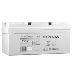 Аккумулятор Энергия АКБ 12-75 / Е0201-0021